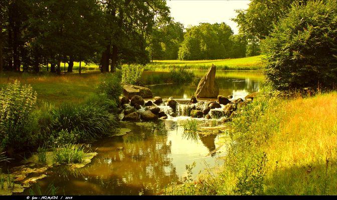 Einer der idyllischsten Plätze im Park