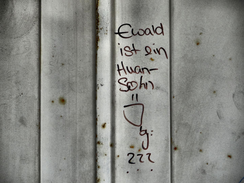Einer der Söhne von Huan heißt Ewald