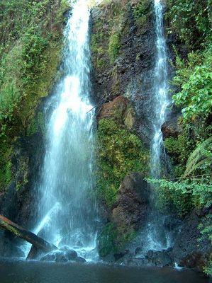 Einer der wenigen Wasserfälle