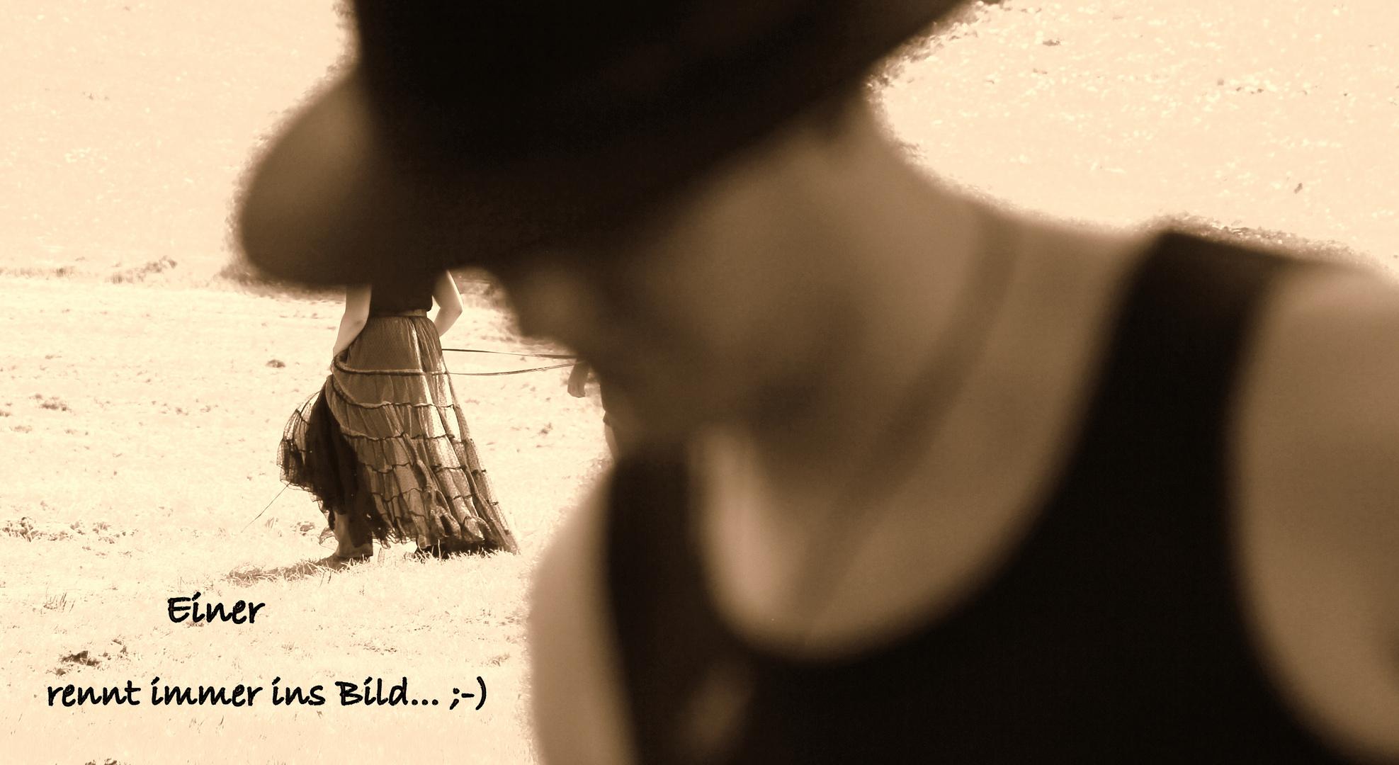 Einer rennt immer ins Bild... ;-)