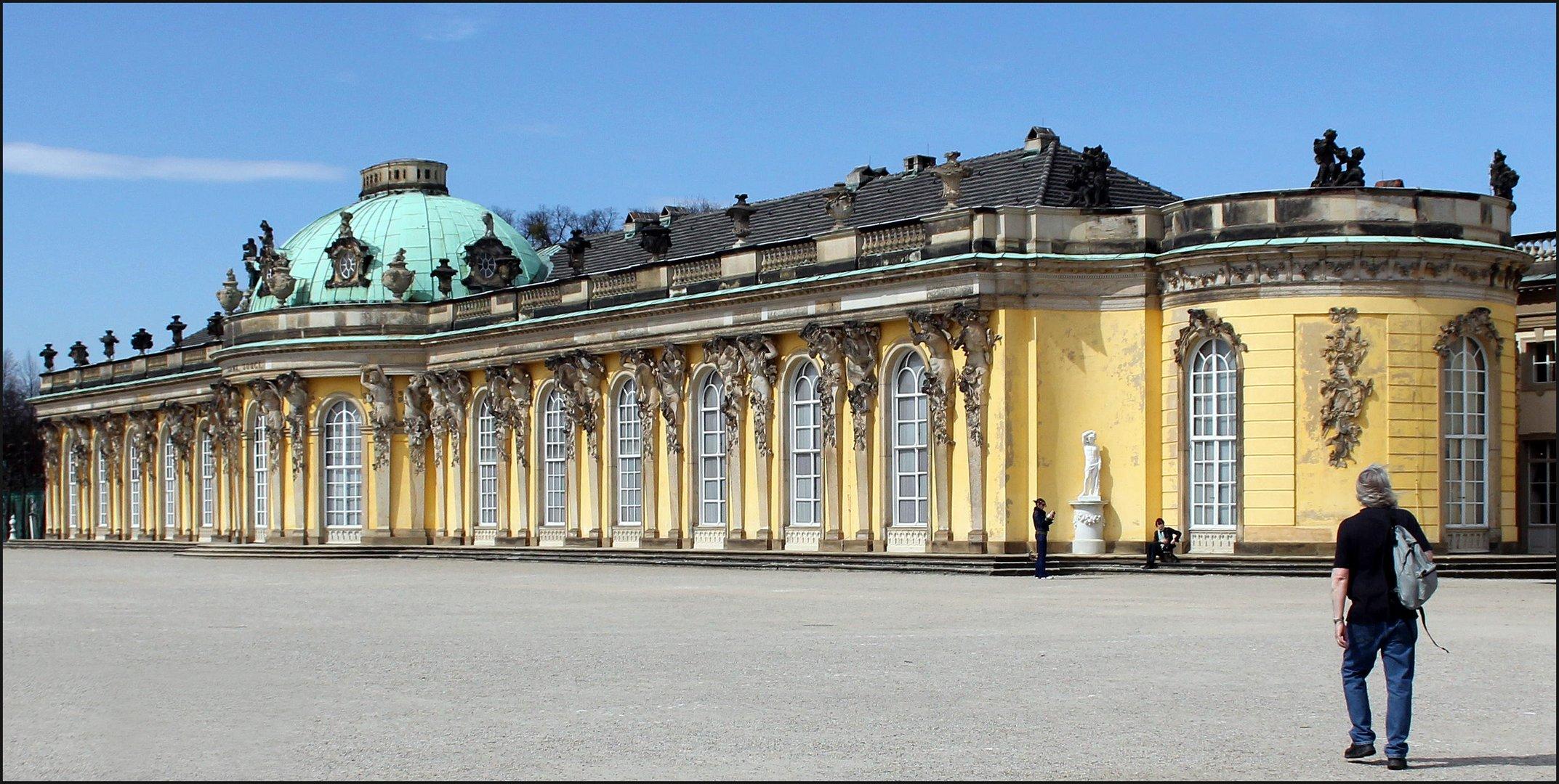 Eines der berühmten Schlösser in Potsdam
