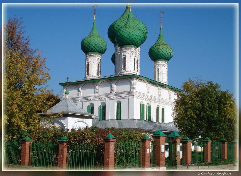 Eines der schönen Kirchen in Russland