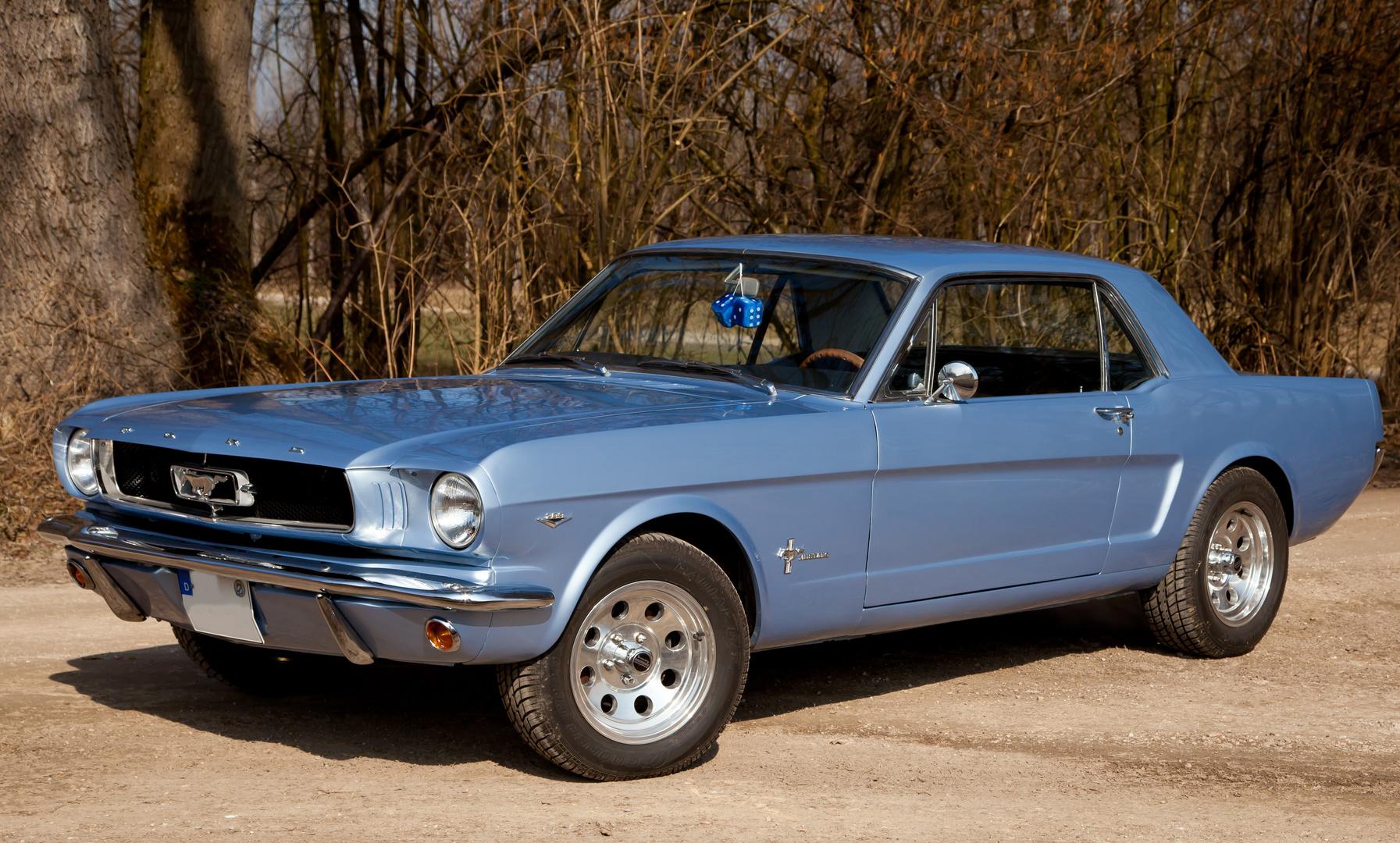 Eines der schönsten Fotomotive - Ford Mustang