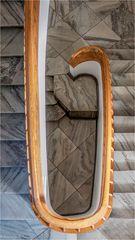 Eines der unzähligen Treppenhäuser ...