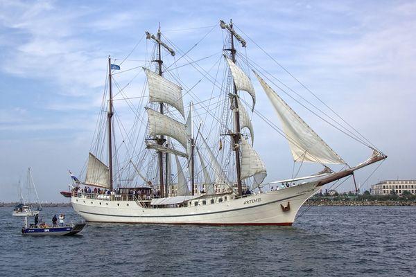 eines meiner Lieblingssegelschiffe