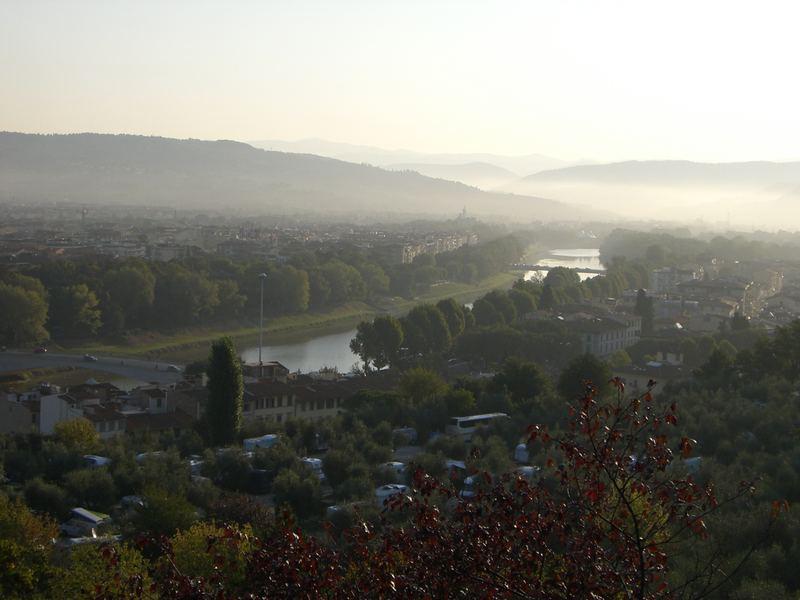 Eines Morgens in Florenz...