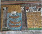 Eines von den wunderbaren Mosaiken in Ravenna
