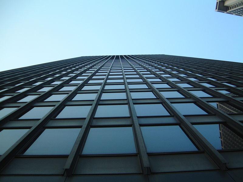 Eines von vielen Hochhäusern in New York