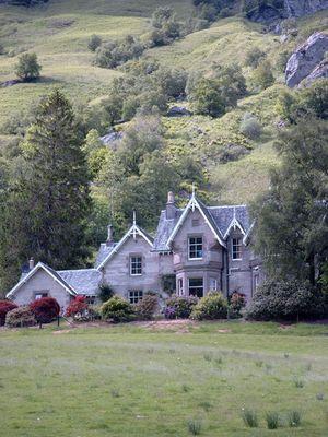 ...eines von vielen schönen Häusern in Schottland