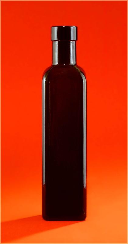 einfach eine Flasche...