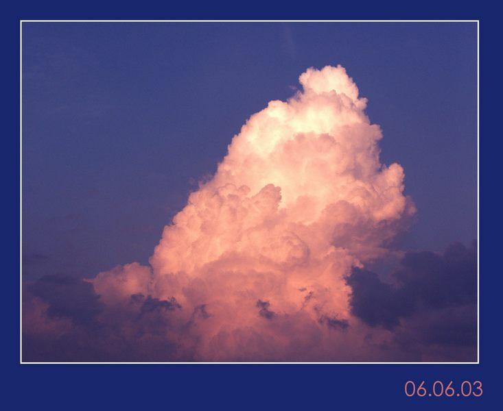 einfach ´ne wolke