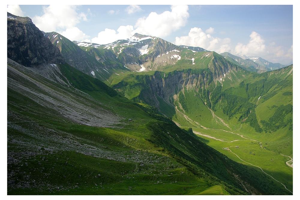 Einfach nur die Alpen