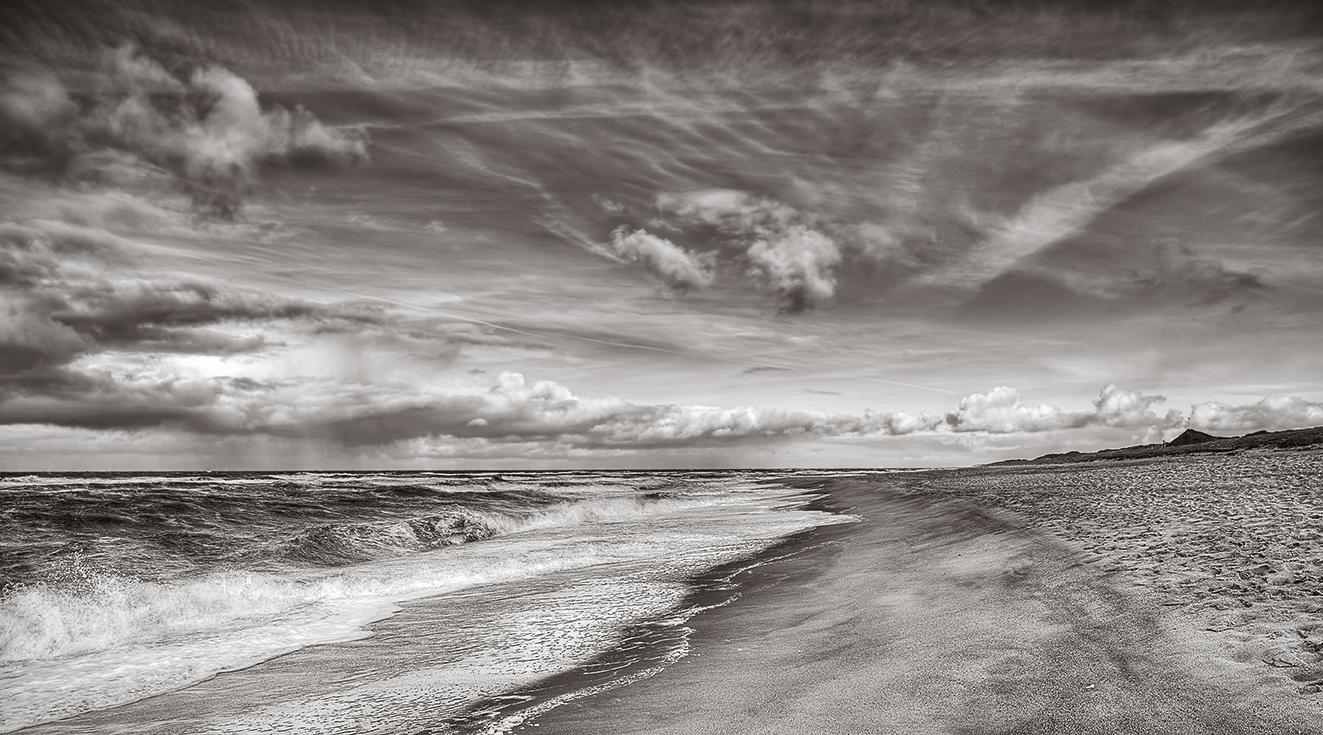 Einfach nur Meer, Wind und Strand