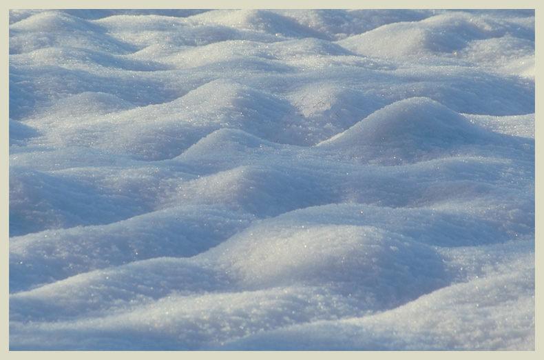 Einfach nur Schnee