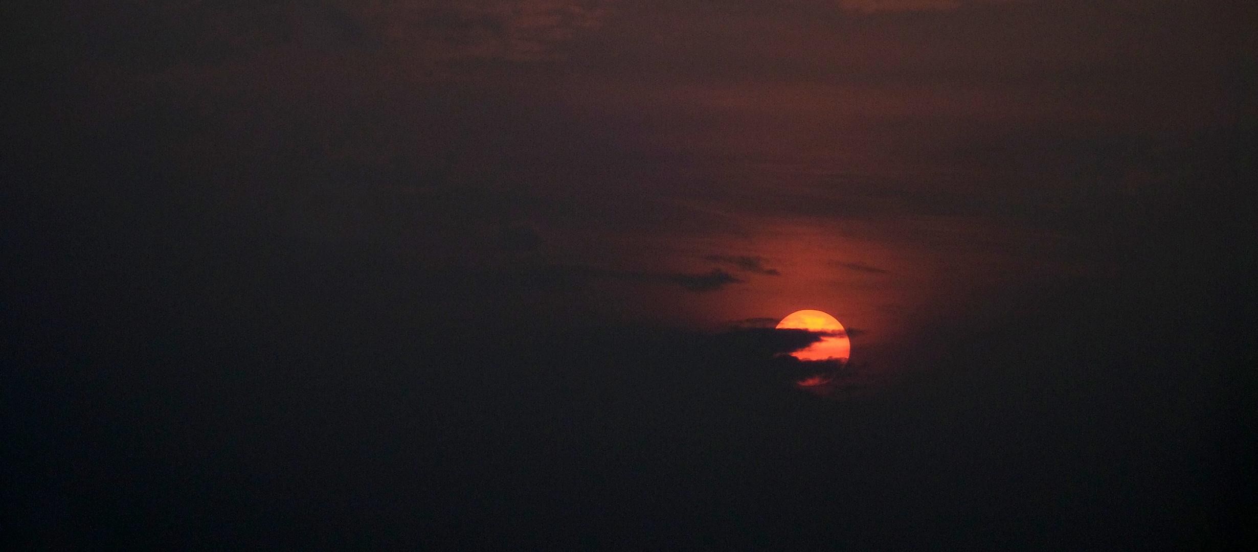 Einfach nur Sonnenuntergang