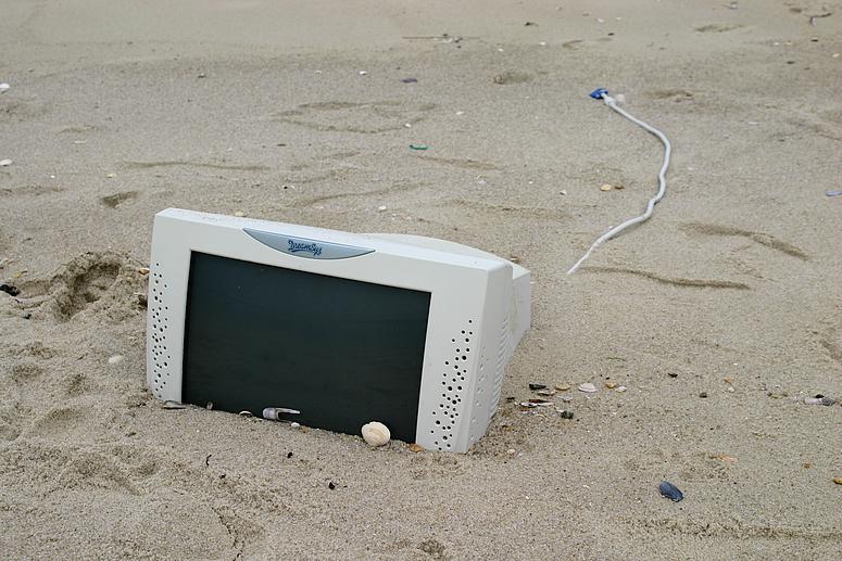 einfach nur Strandgut