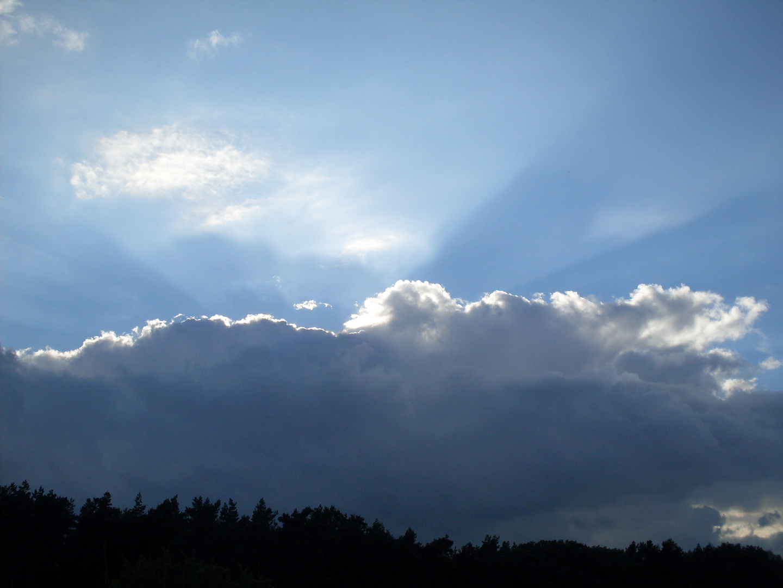 Einfach nur Wolken...