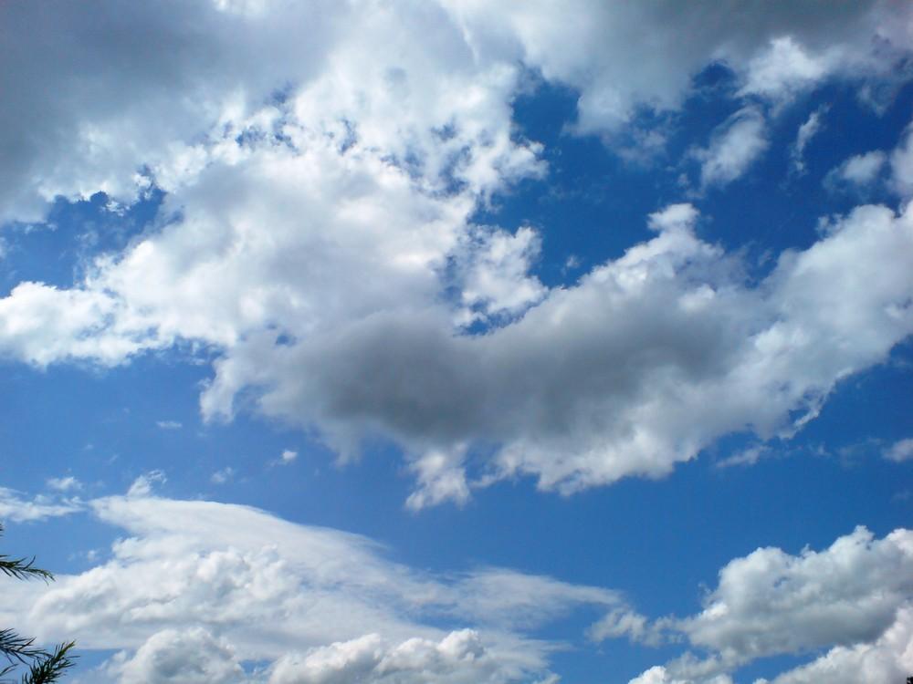 einfach Wolken... aber nie wieder in genau dieser Form sichtbar...