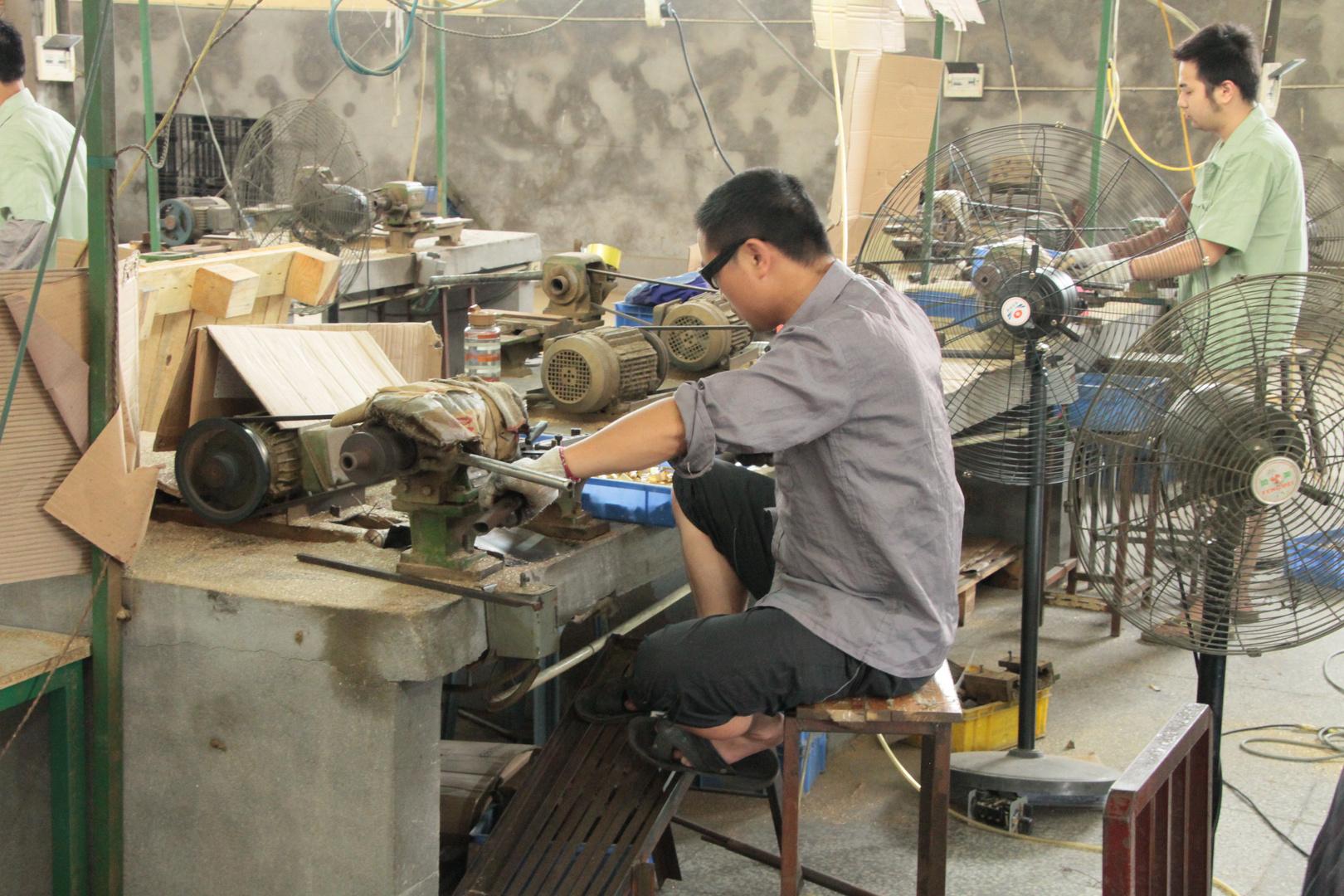 Einfache Produktion in China