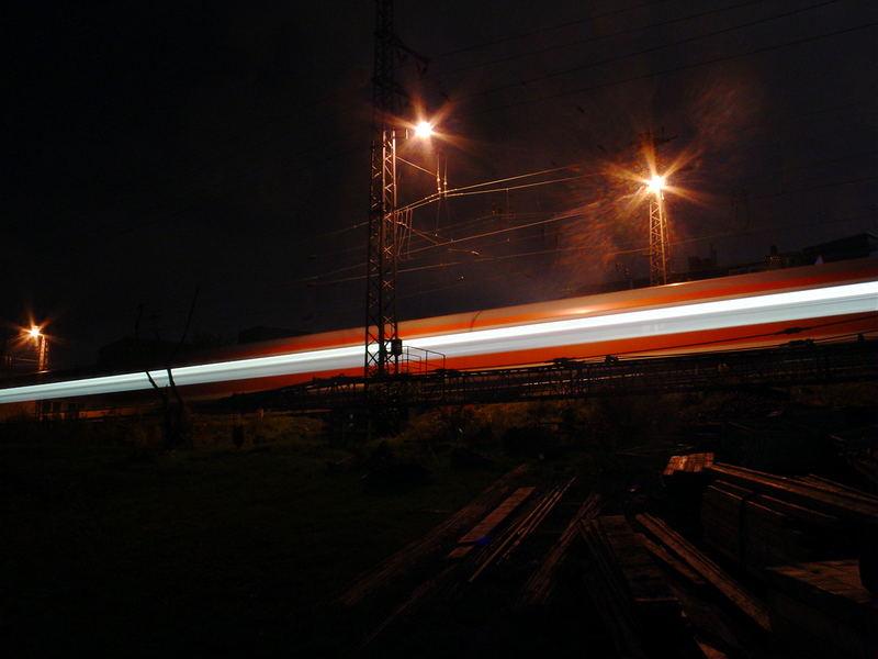 einfahrender Zug in Richtung Dortmund Hauptbahnhof