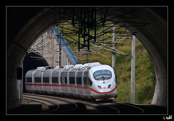 Einfahrt Aegidienbergtunnel