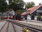 Einfahrt der Brockenbahn