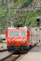 Einfahrt Glacier Express