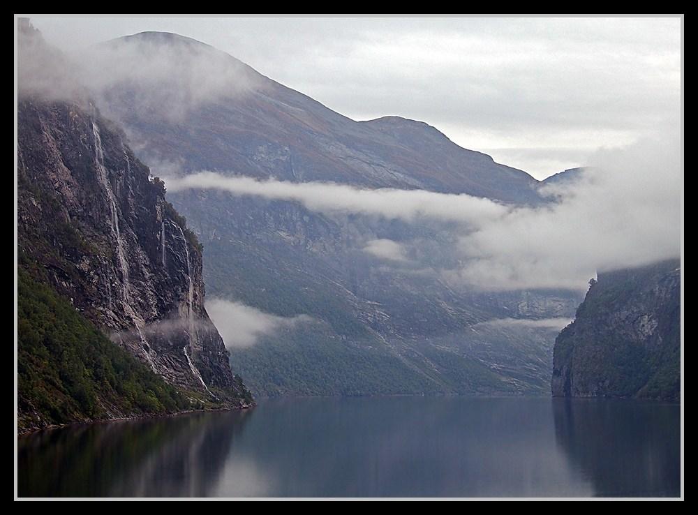 Einfahrt in den Geirangerfjord