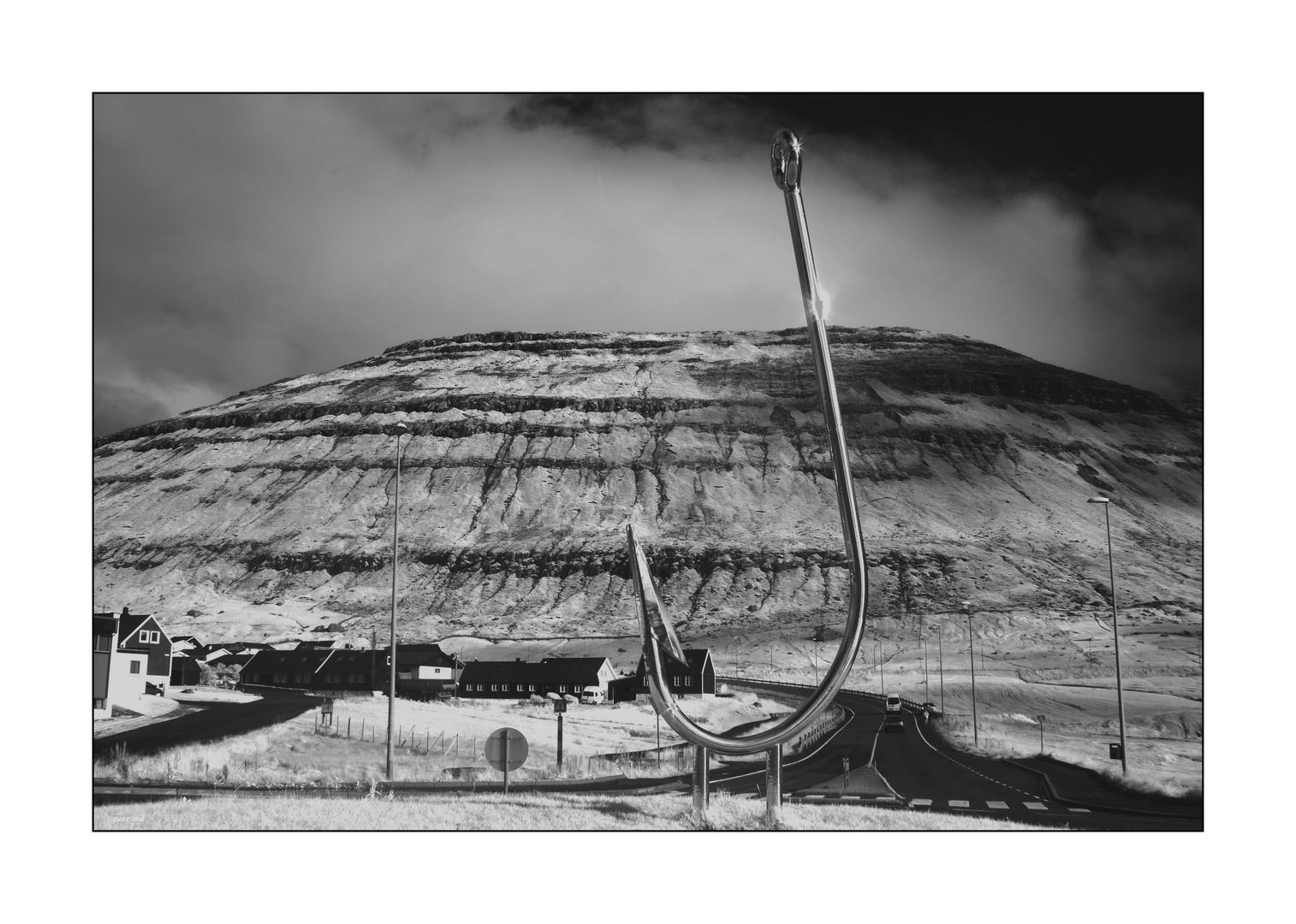 Einfahrt nach Klaksvik