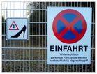 Einfahrt verboten - UND KEINE HEELS!!!