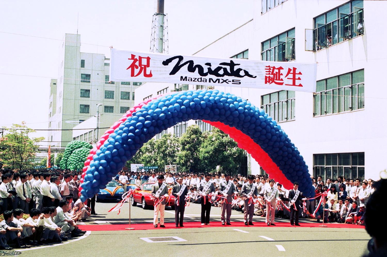 Einführung Mazda MX-5 vor 25 Jahren (7)