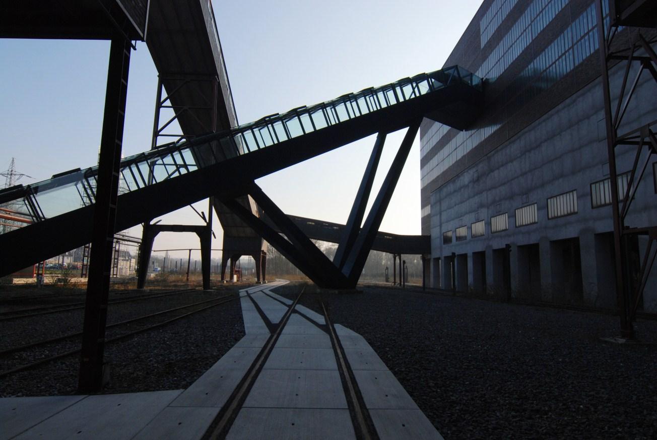 Eingang des neuen Ruhrmuseums