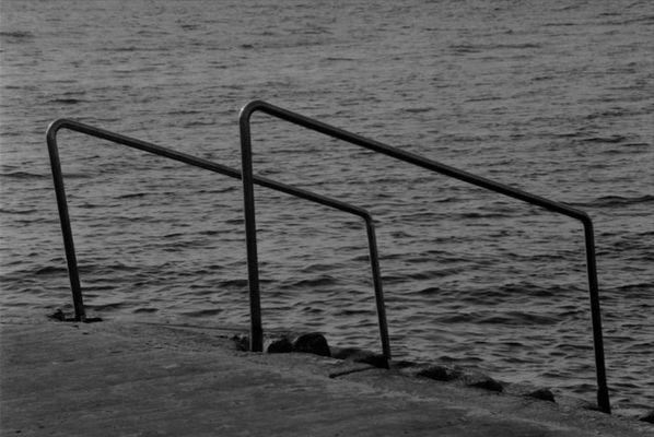 Eingang in das Meer