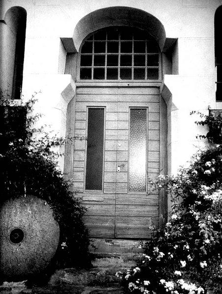 Eingang in Hyeres/ bei Toulon