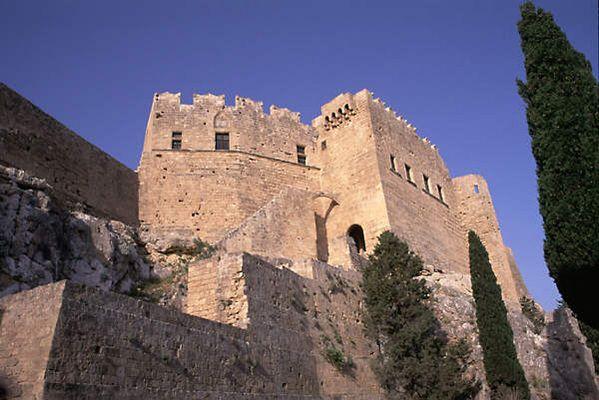 Eingang - Lindos Akropolis