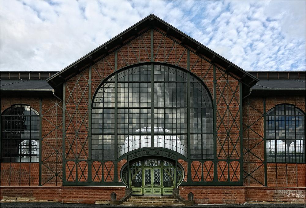 Eingang Maschinenhalle 2
