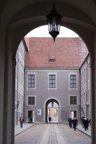 Eingang Residenz München