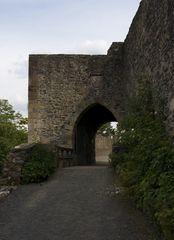 Eingang Ruine Hohenburg