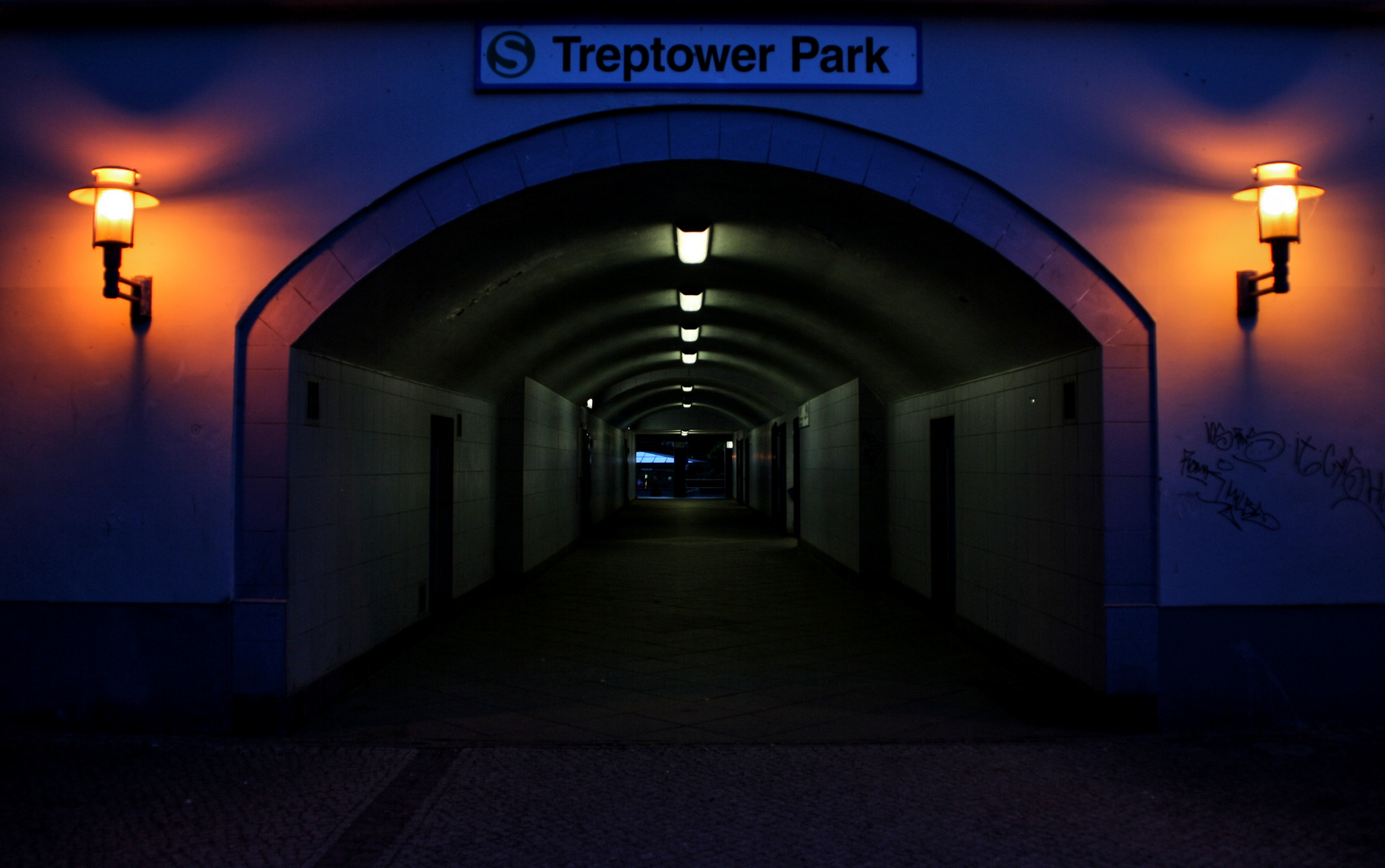 Eingang S-Bf Treptower Park