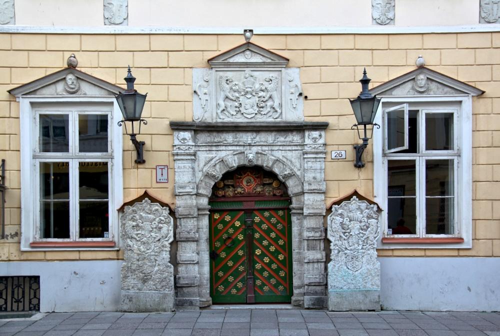Eingang Schwarzhäupterhaus