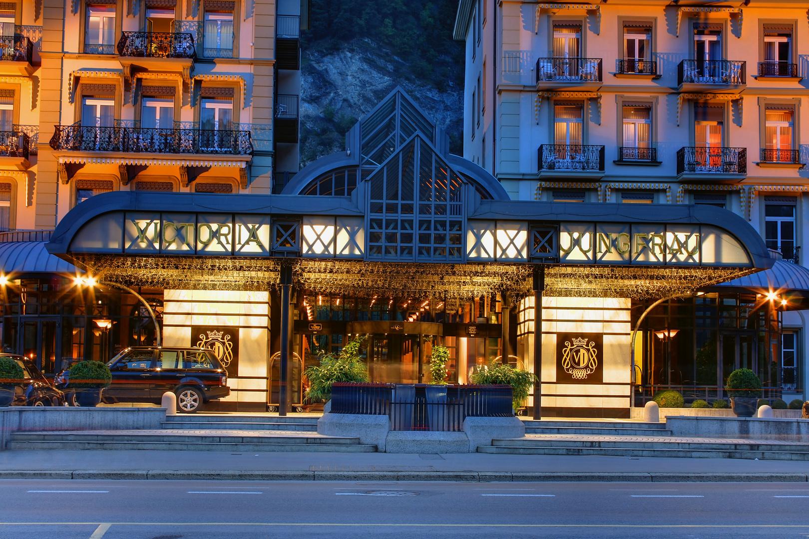 Eingang Viktoria Jungfrau