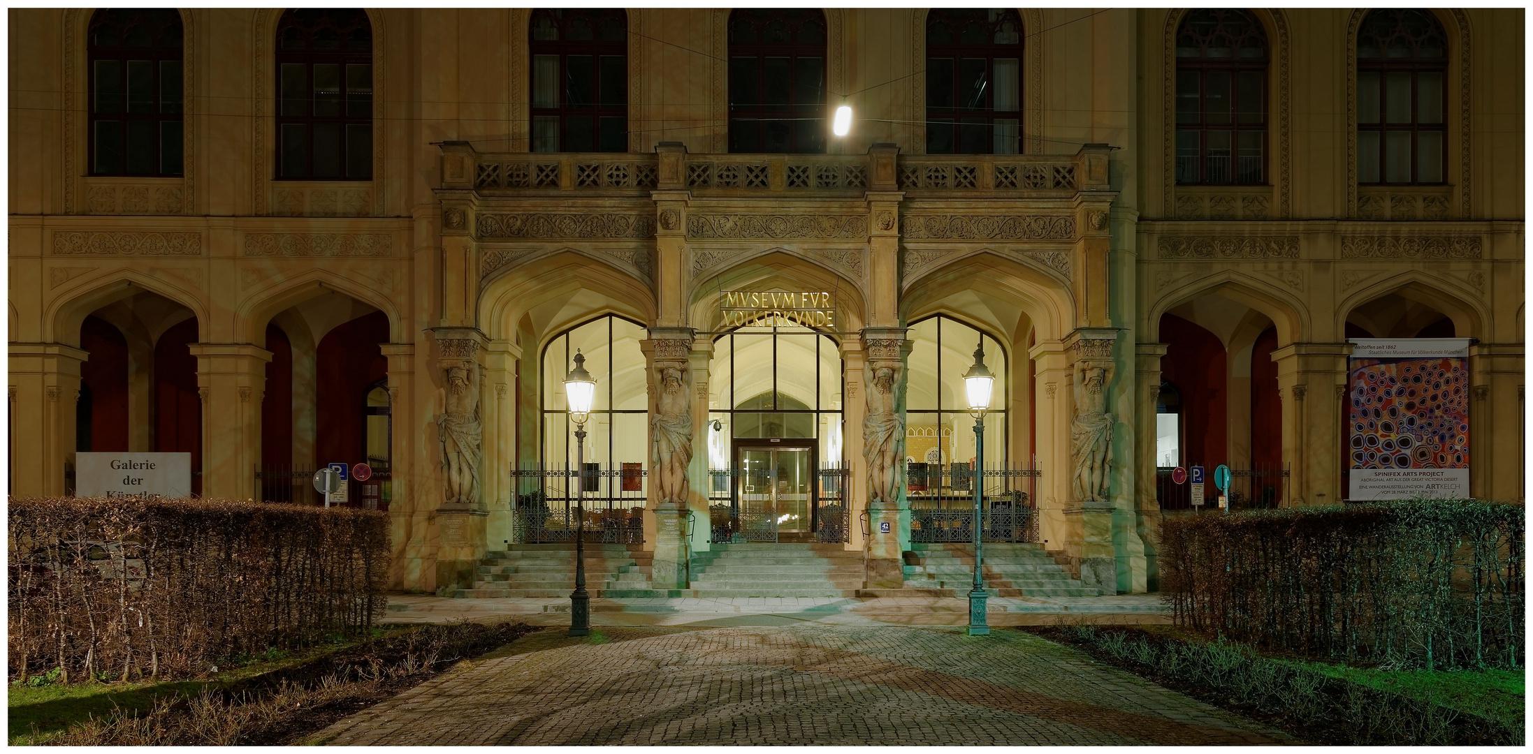 Eingang Völkerkundemuseum München