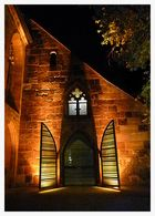 Eingang von St. Klara