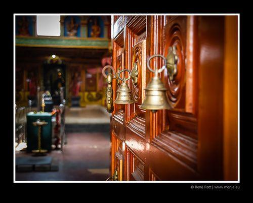 Eingang zum Hindu-Tempel in Negombo / Sri Lanka