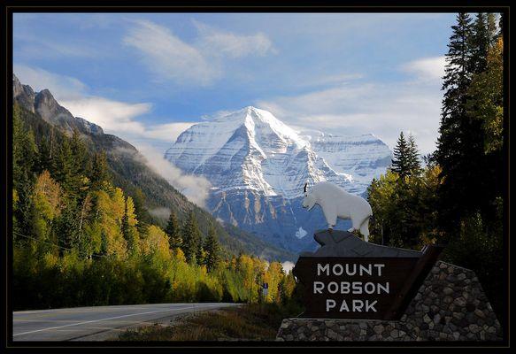 Eingang zum Mt. Robson PP