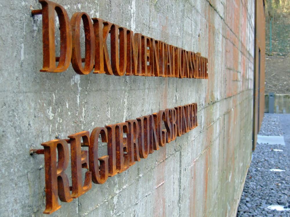 Eingang zum neuen Bunkermuseum Marienthal