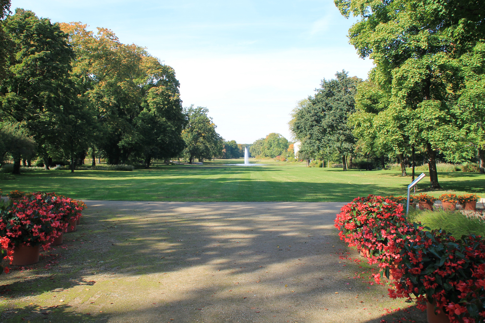 Eingang zum Park