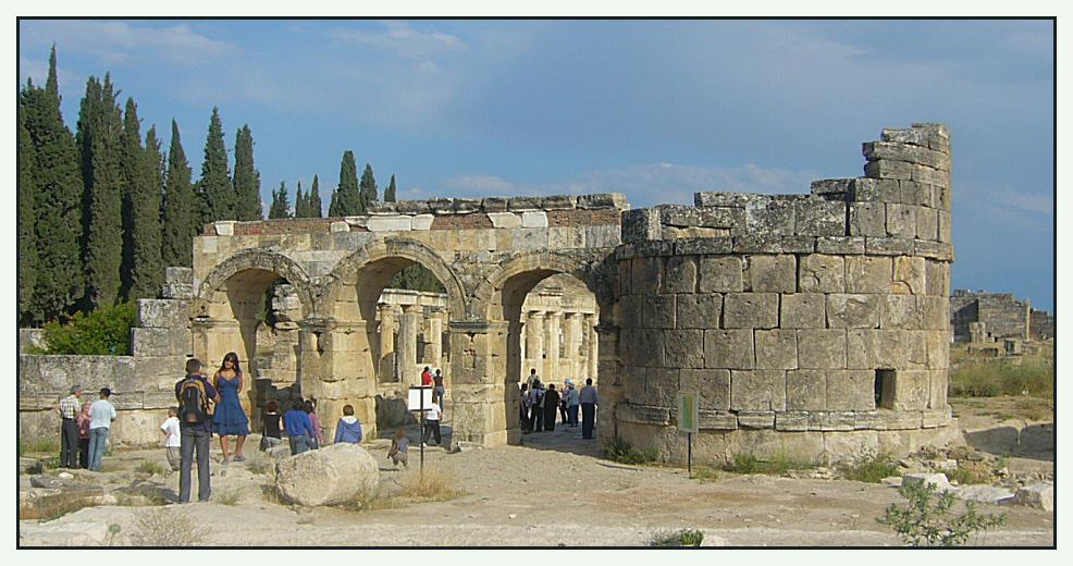 Eingang zum römischen Gräberfeld