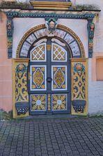 Eingang zum Schloss Demerthin