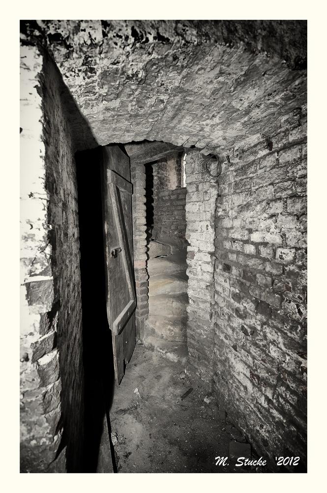 Eingang zum Treppenhaus